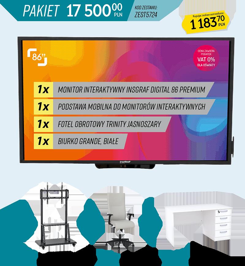 Pakiety sprzęt i akcesoria - zest5724
