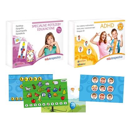 Eduterapeutica specjalne potrzeby edukacyjne i ADHD program multimedialny