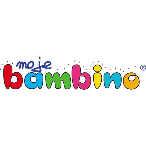 Logo firmy Moje Bambino eksperta ds. programu aktywna tablica