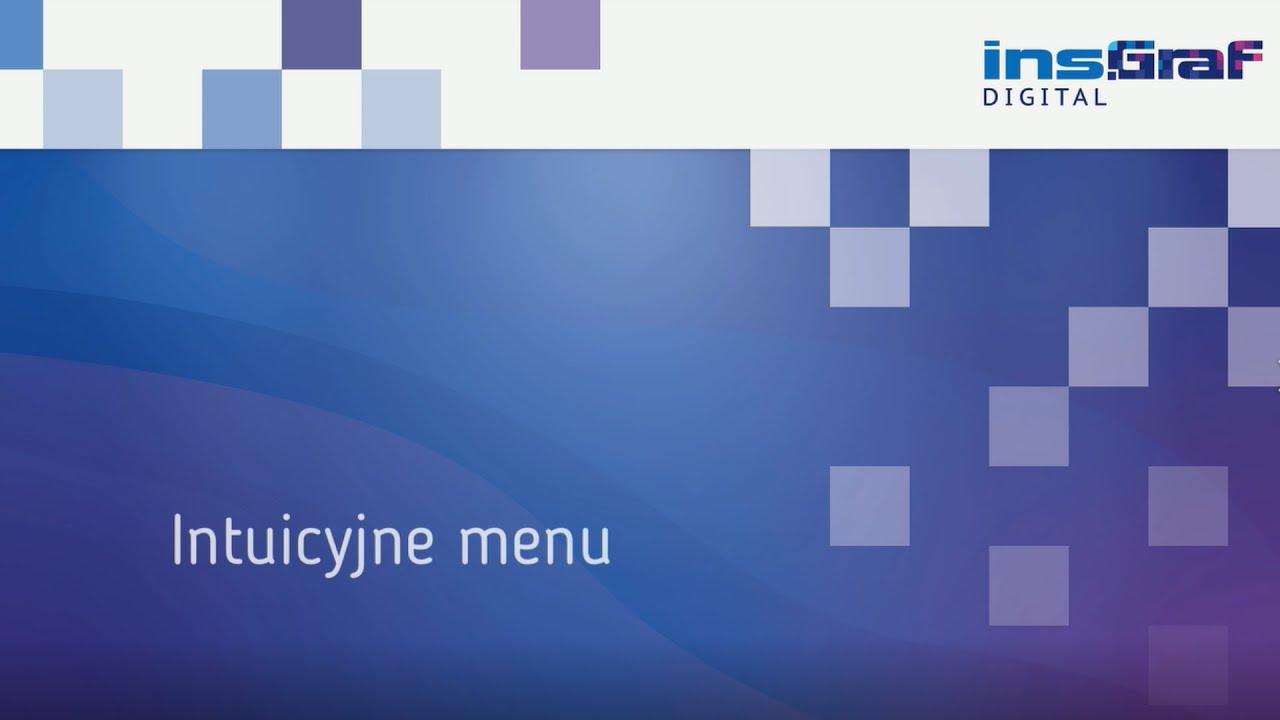 Intuicyjne menu. Materiały wideo Aktywna Tablica