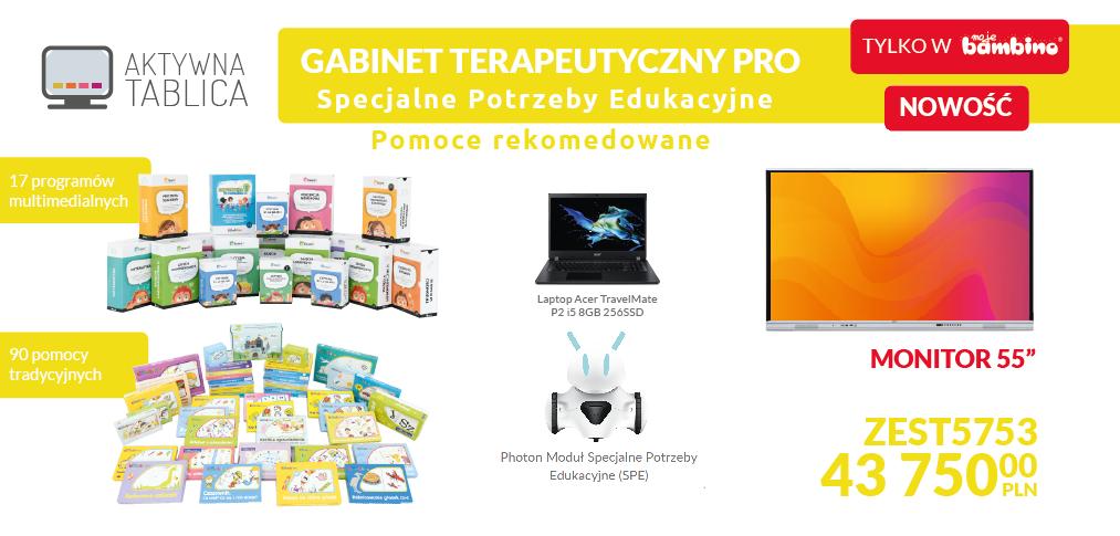 Pakiet pomocy dydaktycznych i terapeutycznych specjalne potrzeby edukacyjne