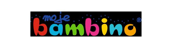 Logotyp firmy Moje Bambino - lidera na rynku wyposażenia placówek oświatowych
